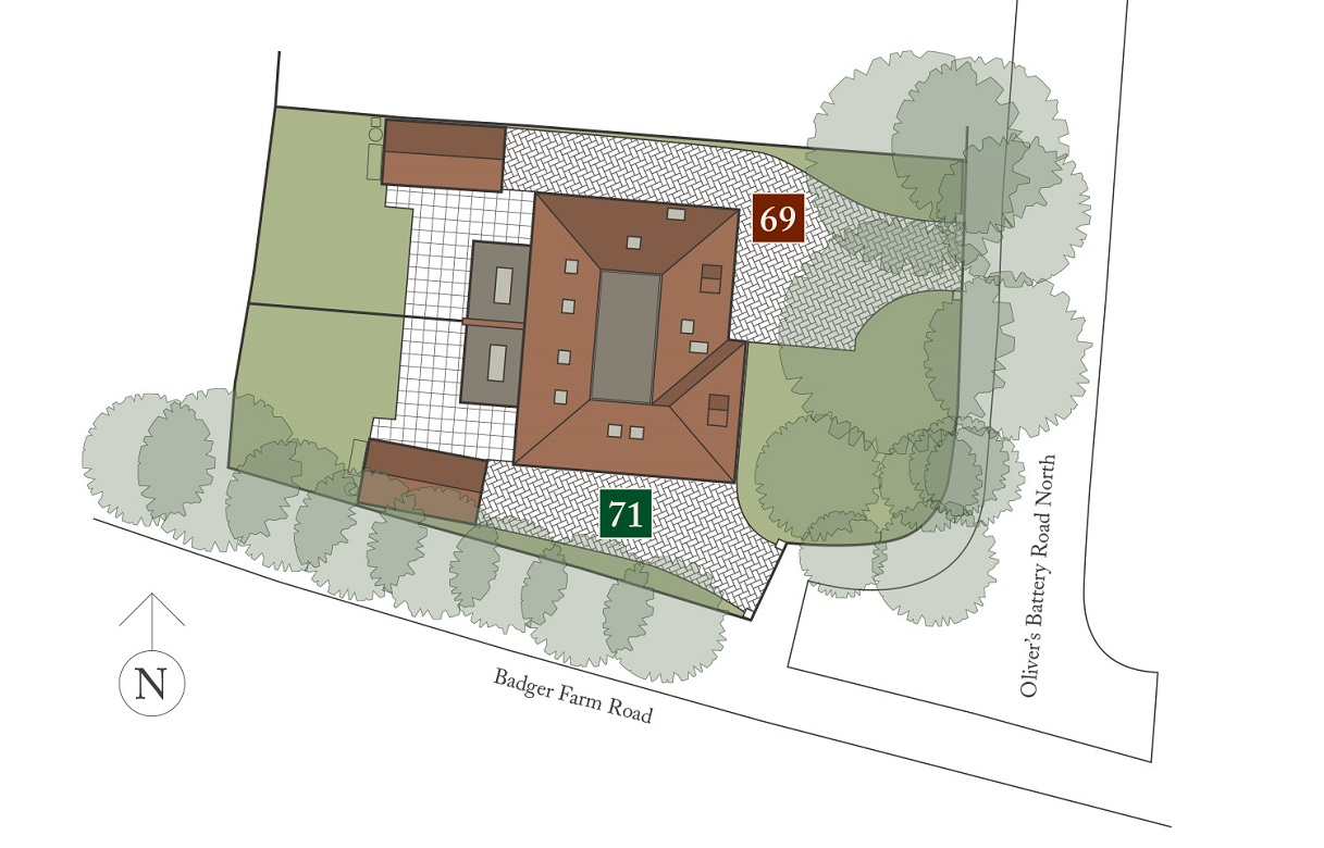 Sentinels site plan